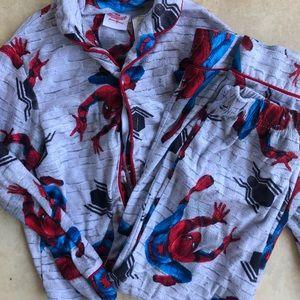 Boys spider man pajamas